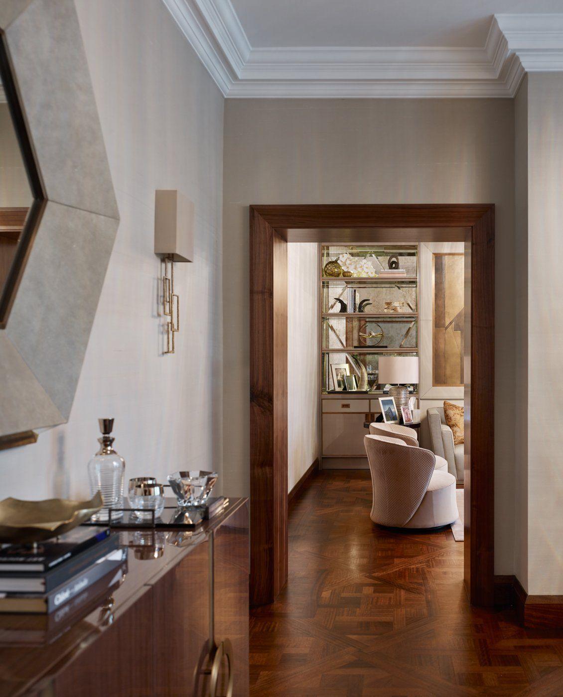 Luxury interior design of apartment in Bayswater
