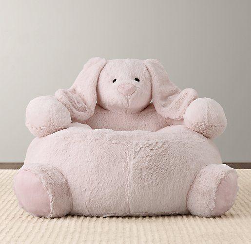 Cuddle Plush Bunny Chair | Nursery Accessories | Restoration Hardware Baby  U0026 Child. I Want