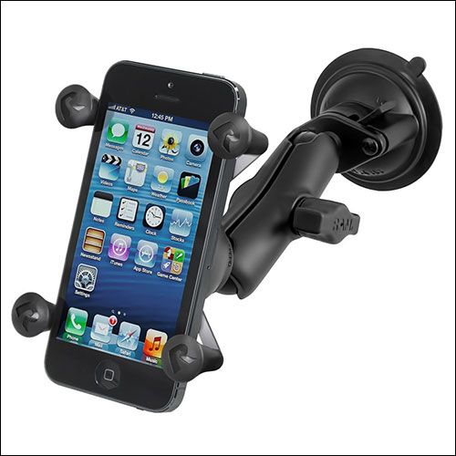 more photos 650b6 8471b Ram Mounts Car Mount for iPhone X, iPhone 8, 8 Plus | Apple | Cell ...