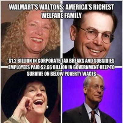 The Walton Family Is Richest In World Their Wealth Inherited From Bud And Sam Founders Of Worlds Largest Retailer Walmart