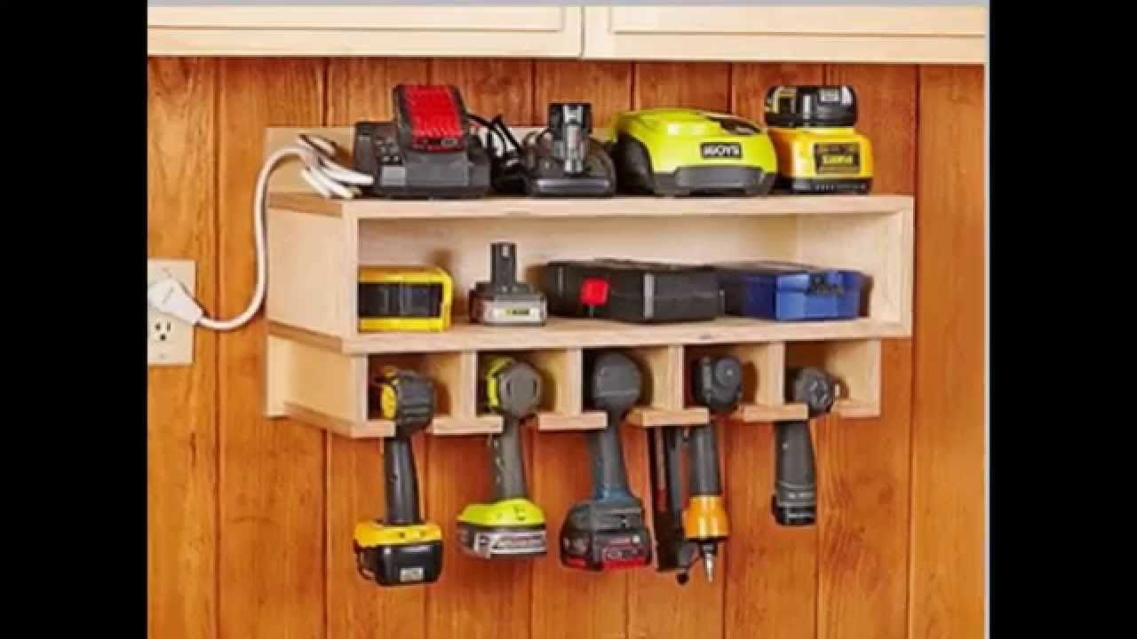 Power Tool Storage Ideas | Tools | Pinterest | Power tool ...
