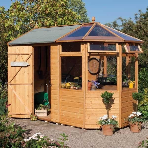 check out this 103 x 68 rowlinson deluxe - Garden Sheds 10 X 6