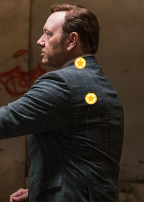 Auf dieser Pinnwand findest du die Looks & Styles von Schauspiellegende Kevin Spacey - zum Beispiel sein elegantes Outfit aus