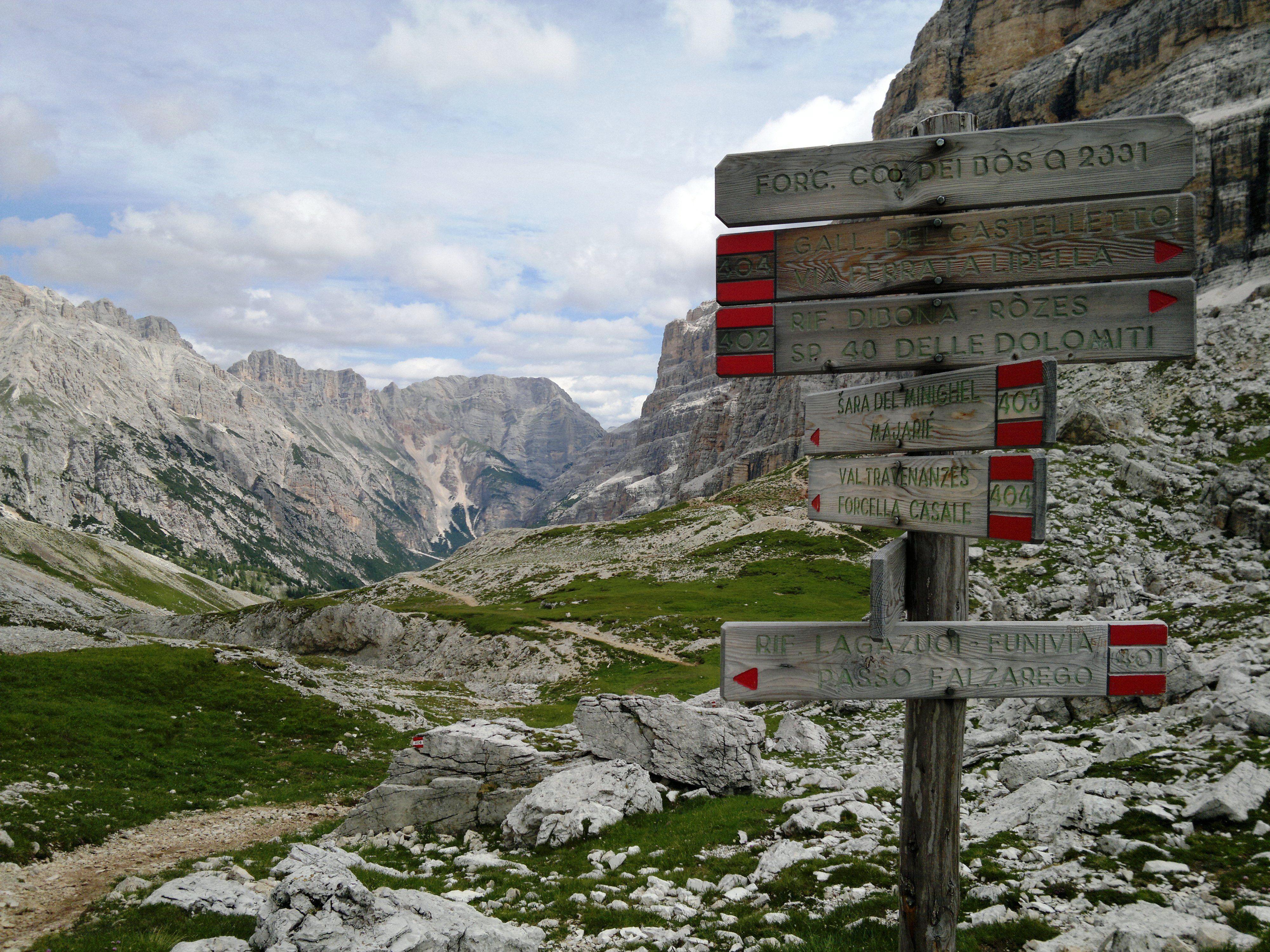 My hiking photos Cortina D'Ampezzo, Italy Natural