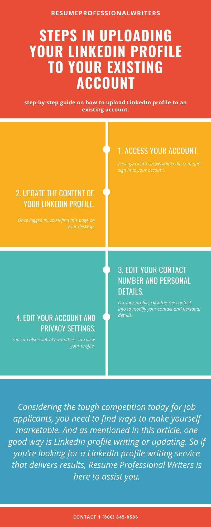 Steps in Uploading Your LinkedIn in 2020 Linkedin