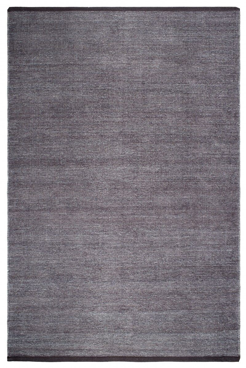 Waterloo Gray Cotton Handwoven Hand Weaving Large Area Rugs