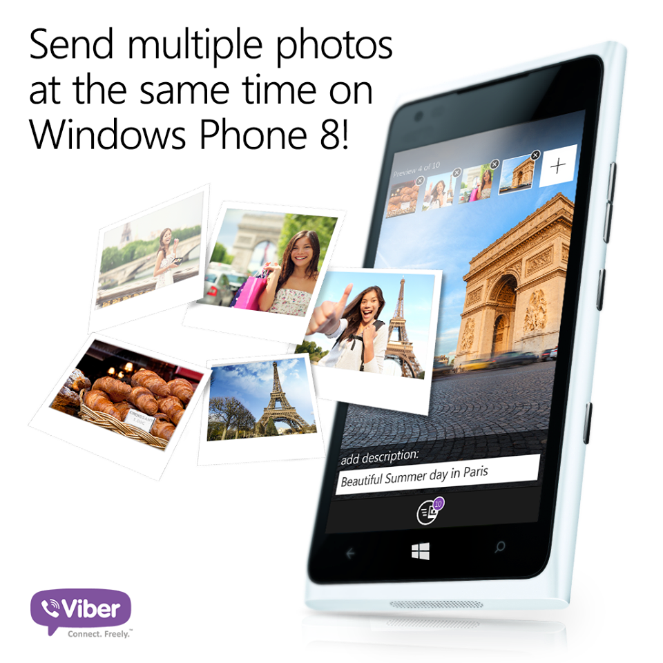 Share the fun, many at a time! | Viber Tips | Polaroid film
