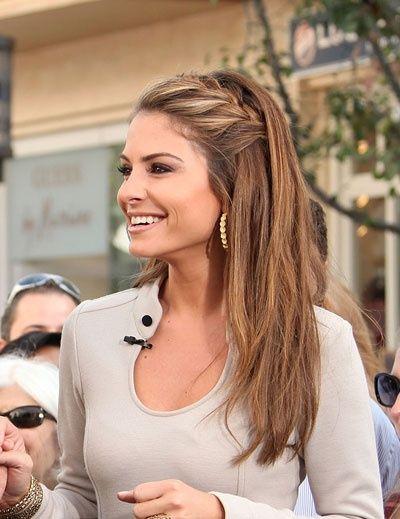 Cute Way To Keep Hair Away From Face Hair Pinterest Bridal