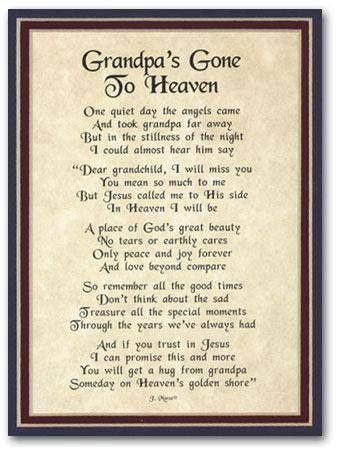 Grandpas Gone To Heaven