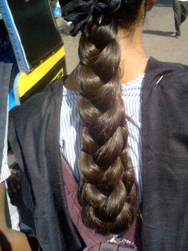 Pin On Plaiting Long Hair Plaits Close Up