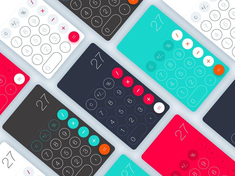 Calculator concept calculator concept concept design