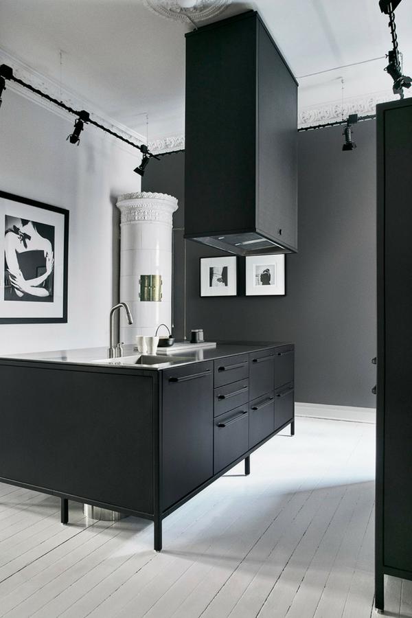 Bilder Für Küche Schwarz Weiß