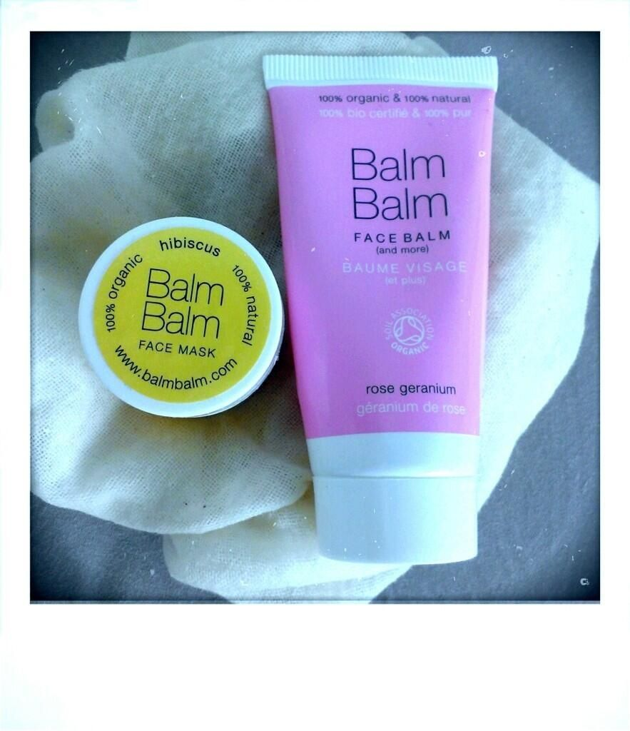 Balm Balm Face Balm and Hibiscus Mask. Follow loveface on Twitter @loveface_beauty.