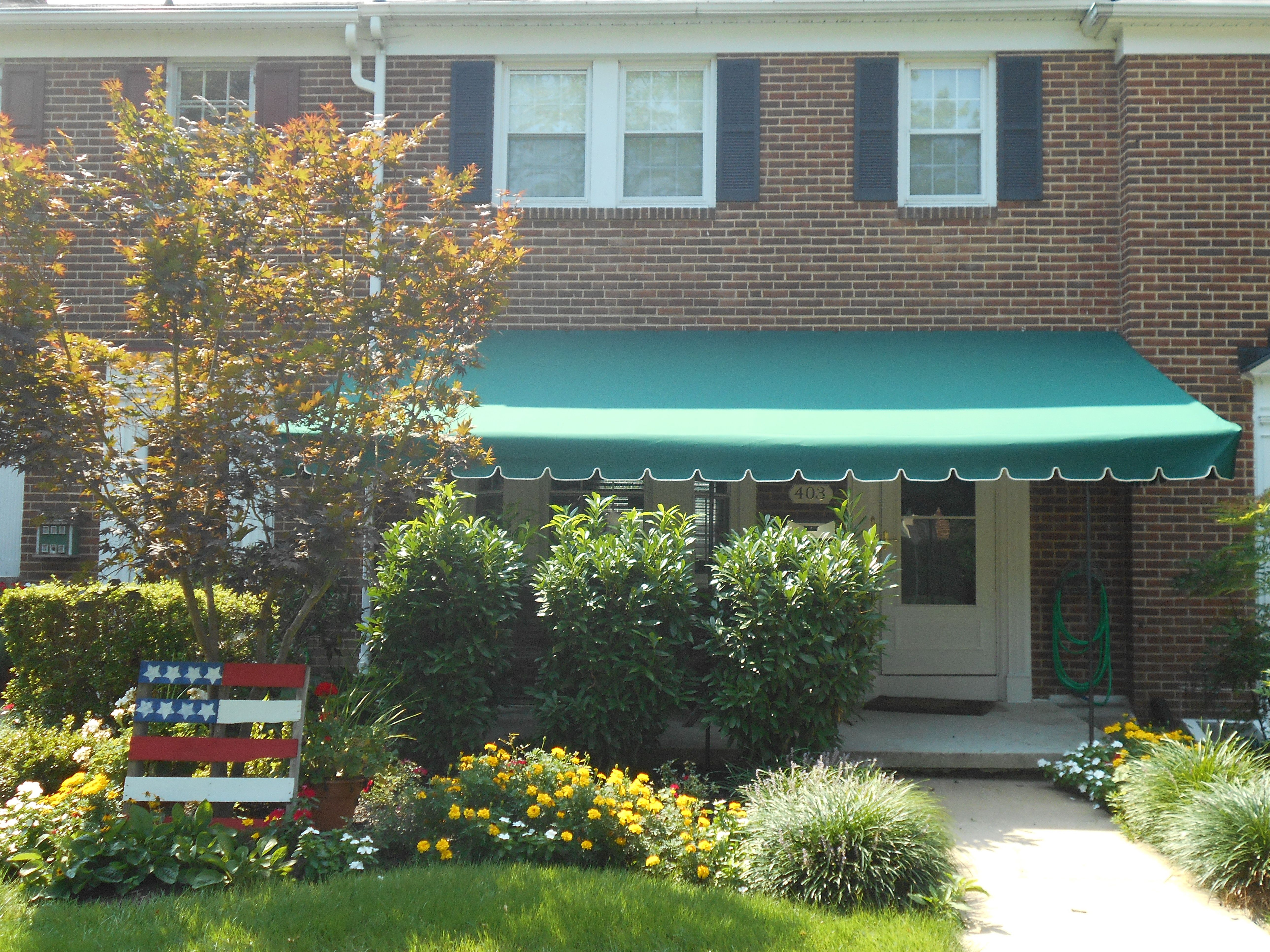 hard shade awning front awnings canadian top cavalier large squire porch product