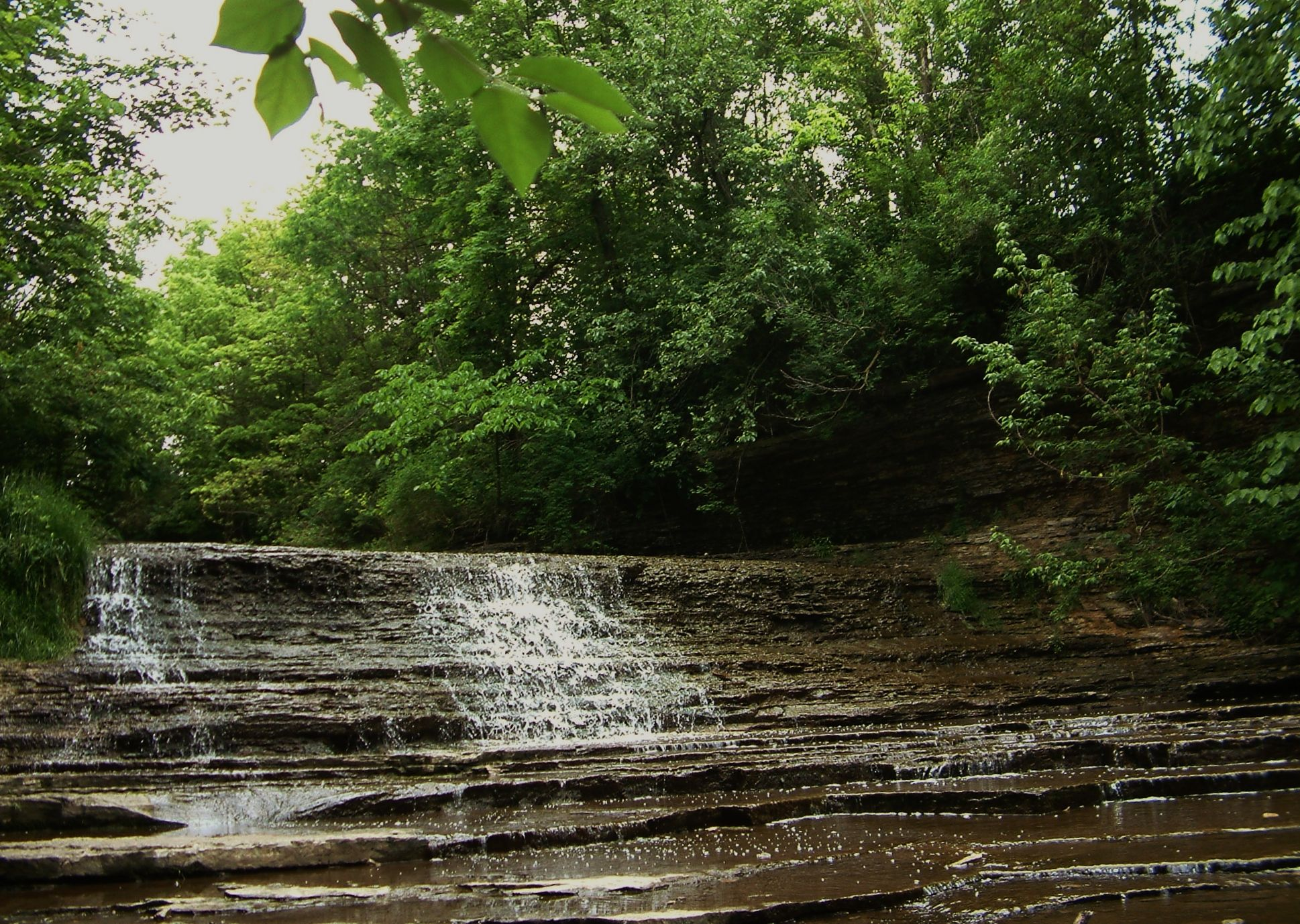 Falls In Wabash Indiana City Park Indiana Cities Park City Wabash Indiana