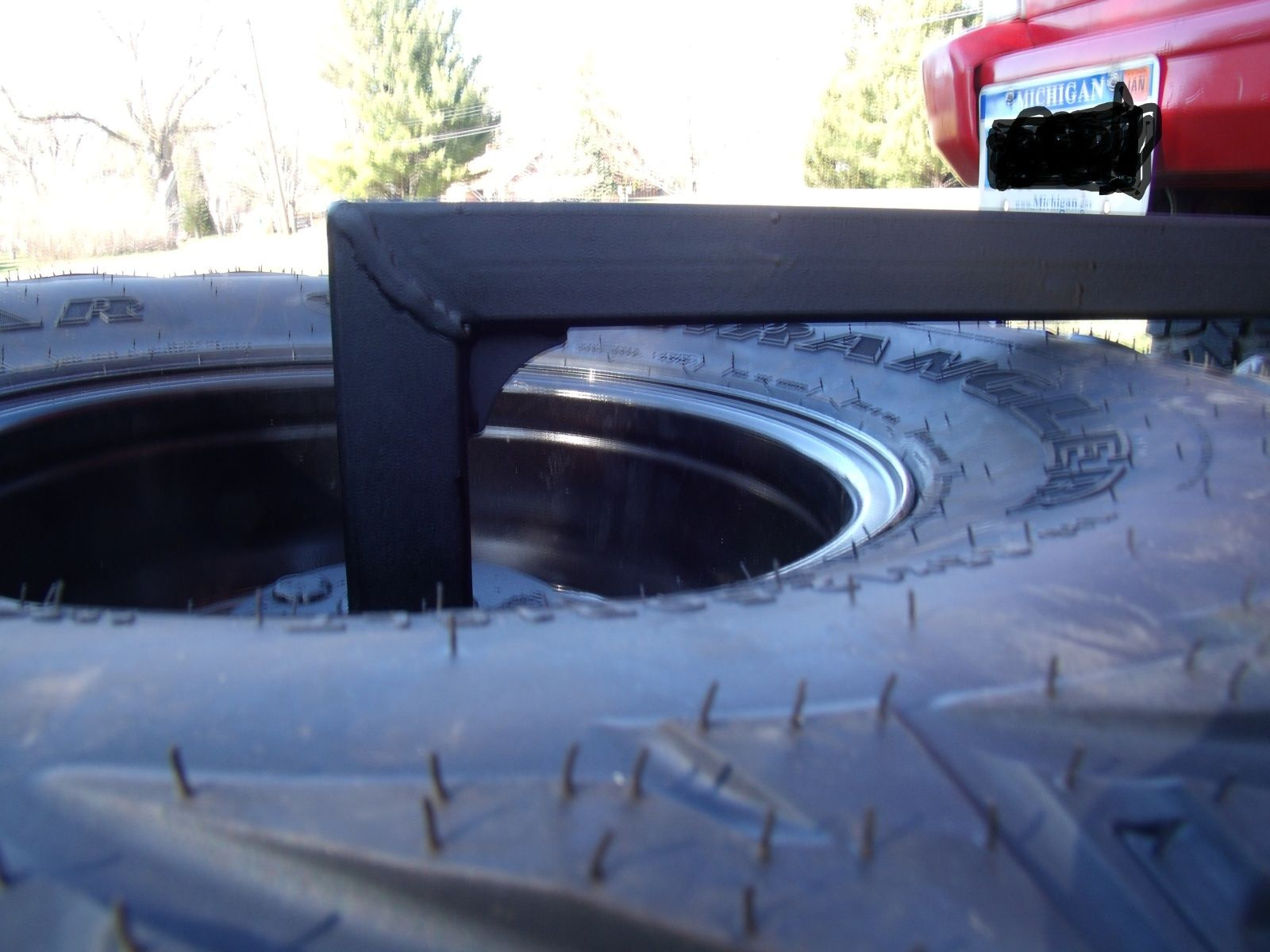 My 55.00 spare tire carrier Spare tire, Jeep, Jeep cherokee