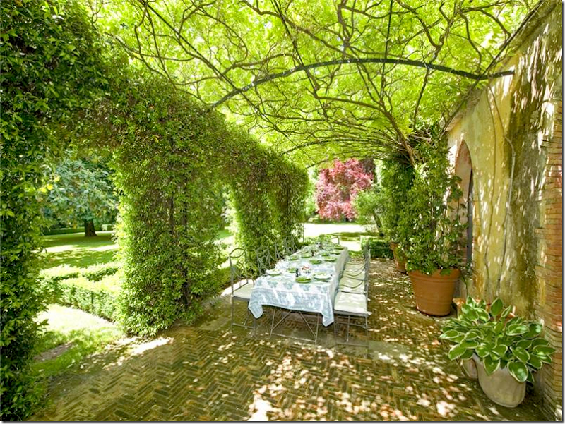 Provence ~ Photo via Cote de Texas blog | Outdoor Spaces | Pinterest ...