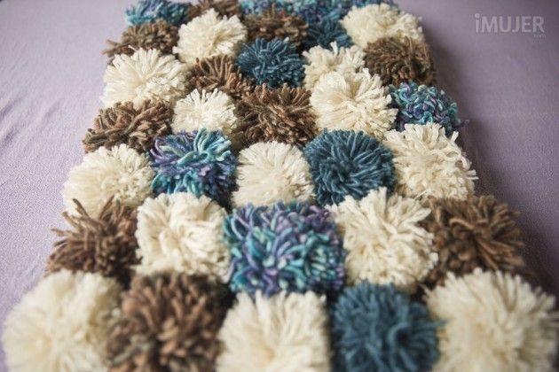 C mo hacer alfombras de lana alfombra de lana c mo - Como hacer una alfombra de lana ...