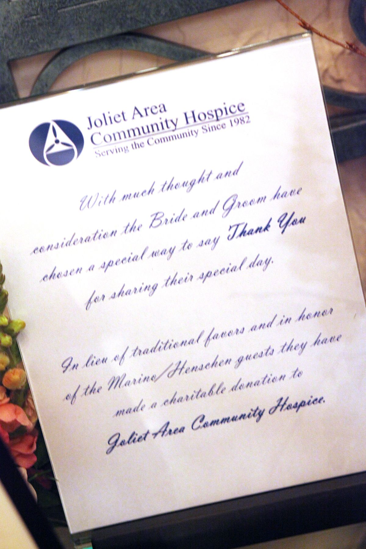 much more meaningful then wedding favors! | my wedding | Pinterest ...