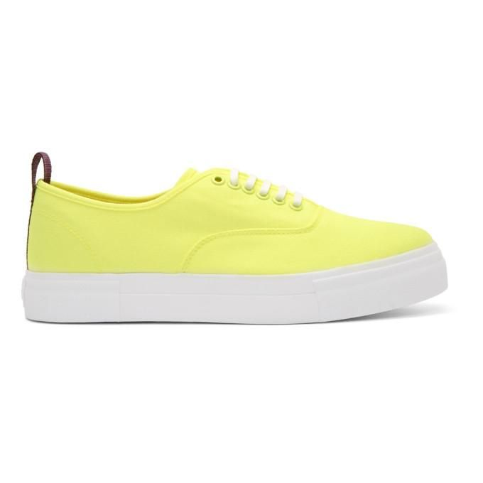 Eytys Yellow Canvas Mother Sneakers rZ8t0D
