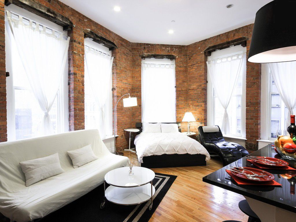 The new york city studio apartment for sale above is used allow ...
