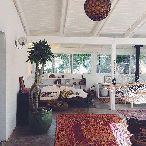 Indoor hammock. Yes.