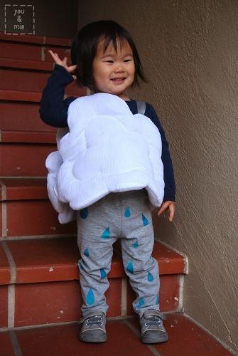 DIY Rain Cloud Costume DIY Halloween Costumes Pinterest Rain - unique toddler halloween costume ideas