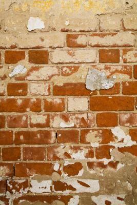 How Do I Repaint A Wall That Has Peeling Paint Old Brick Wall Basement Walls Brick