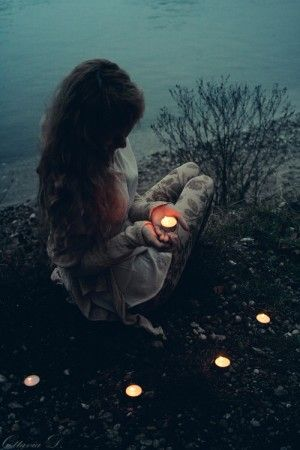 alone girl indie girl photography candles light nature sad lonley dp 300x450 amazing wallpapers cool pictures beautiful HD images collection.