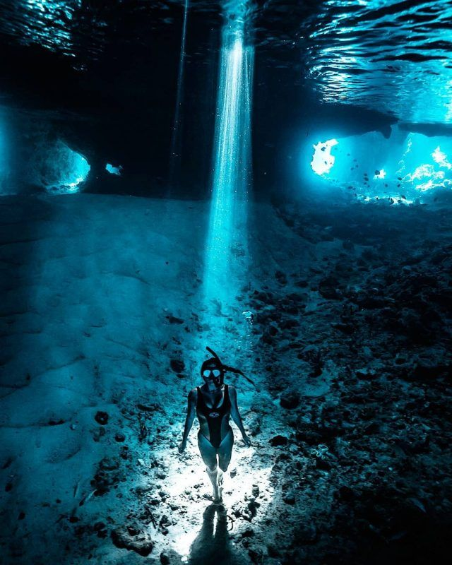 Exploring The Bahamas Underwater World, With Pashence