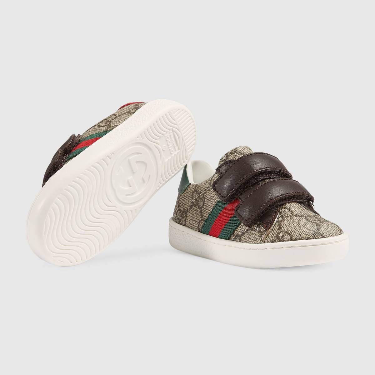 c22f817bae7 Shop the Toddler Ace GG Supreme sneaker by Gucci. null