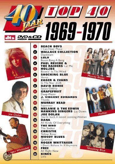 bol com | 40 Jaar Top 40 - 1969/70, Various Artists | Dvd
