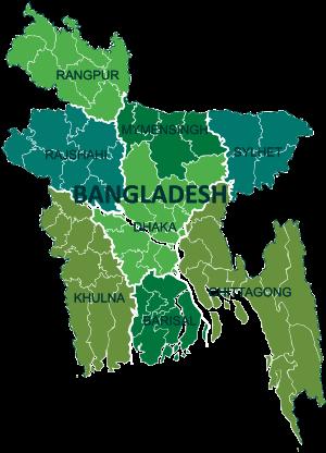 A Clickable Map Of Bangladesh Exhibiting Its Divisions Babyhood - Bangladesh map download