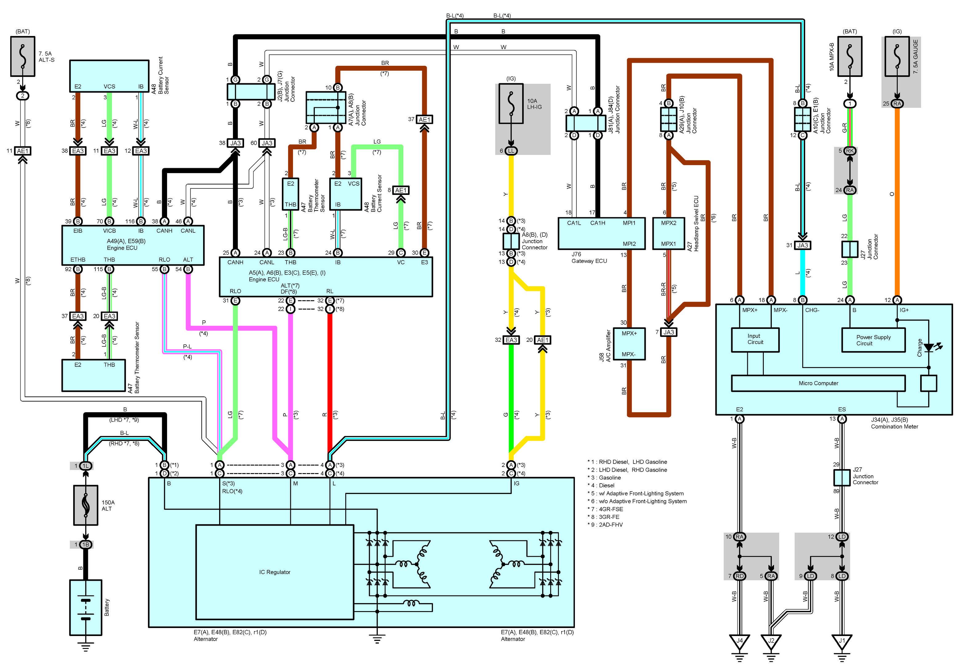 Free 2006 Lexus Is300 Is250 Is220d Oem Electrical W Oem Auto Repair Manuals Electrical Wiring Diagram Lexus Lexus Is300