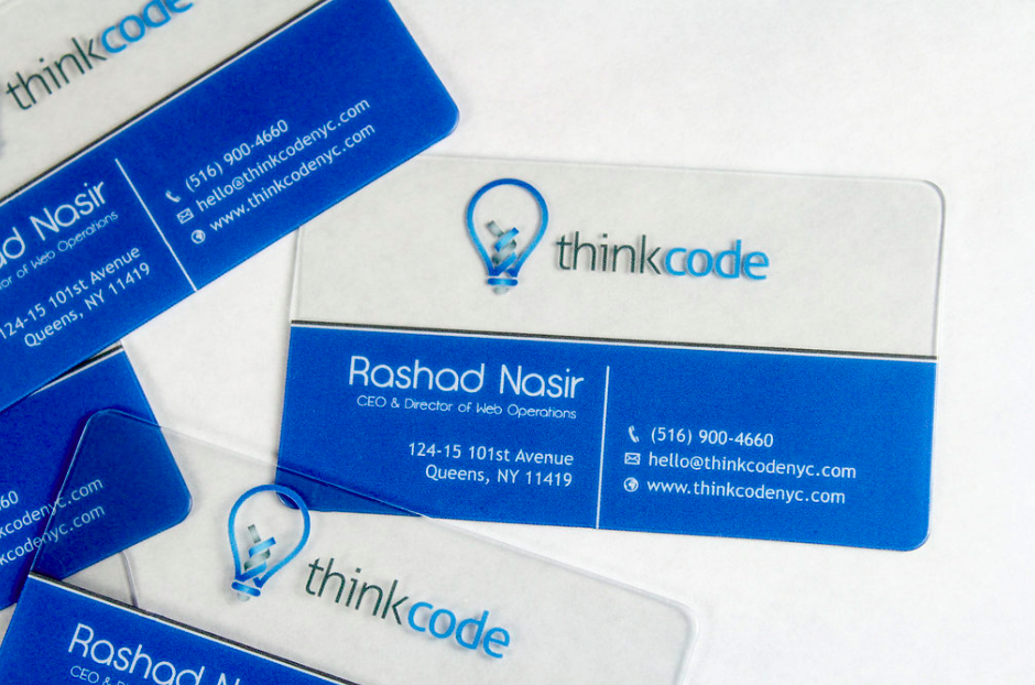 Clear Business Cards: Business cards are a compelling marketing tool ...