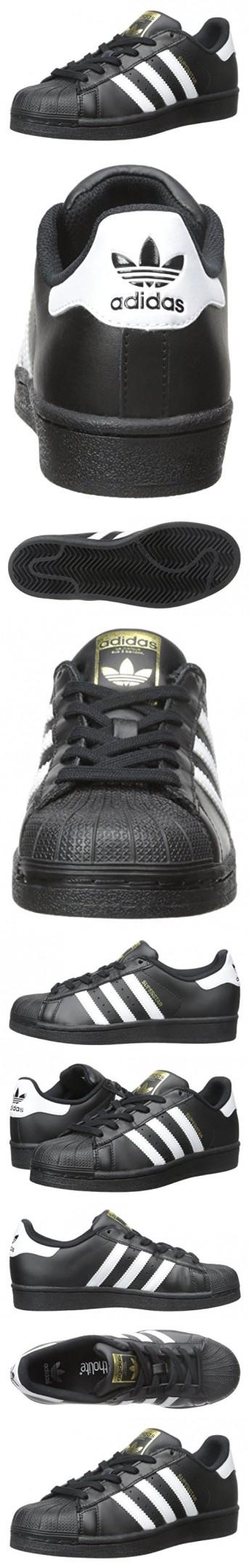 Adidas Originals Superstar Foundation J Casual Basketball-Inspired Low-Cut  Sneaker (Big Kid 46429ce014d2e