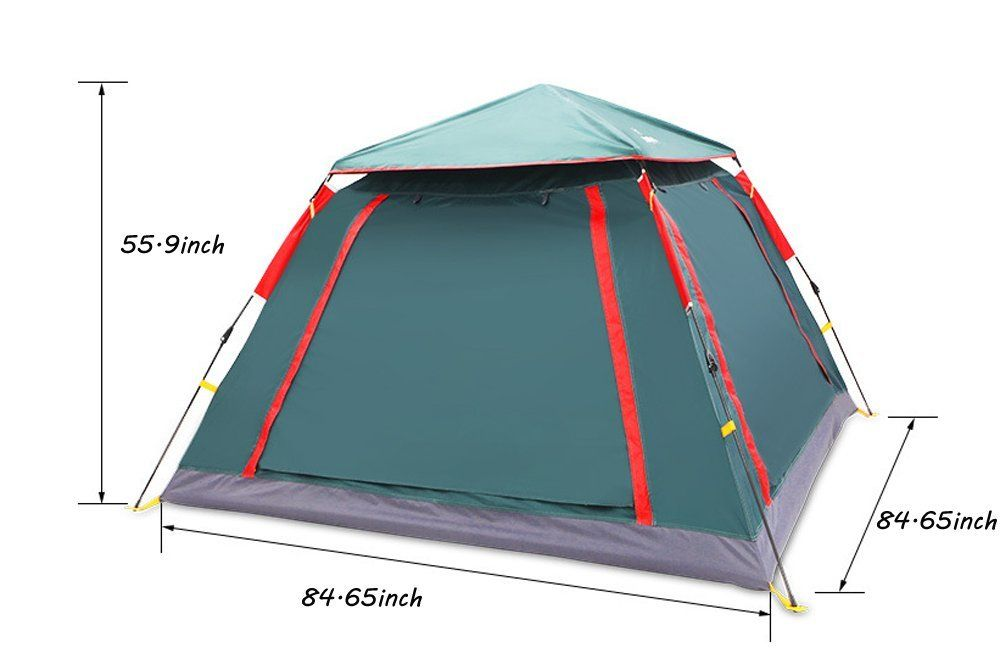 Camping Tents Outdoor Tent 35 People Have Superlarge Space Rainproof Prevent Bask In The Beach Dark Green Check Out This Gre Outdoor Tent Tent Camping Tent