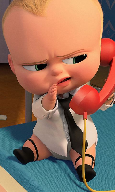 Download The Boss Baby 2017 HD Wallpaper In 480x800 Screen Resolution