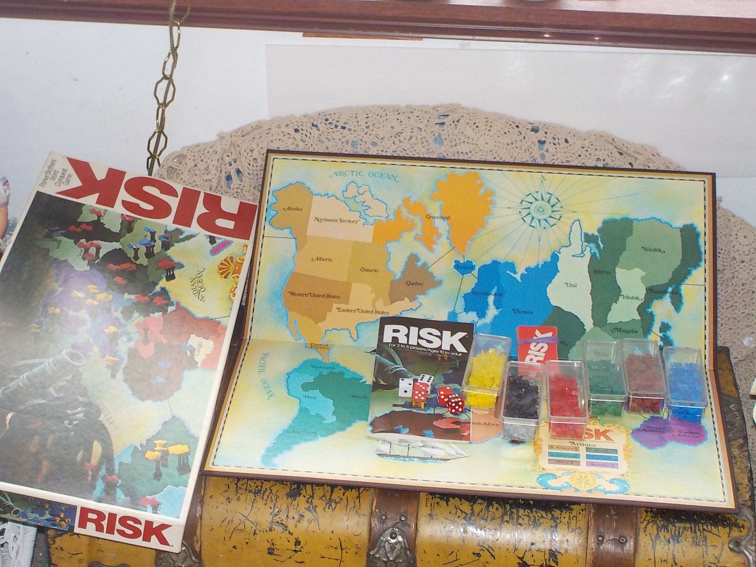 Risk Game by Daysgonebytreasures on Etsy (With images