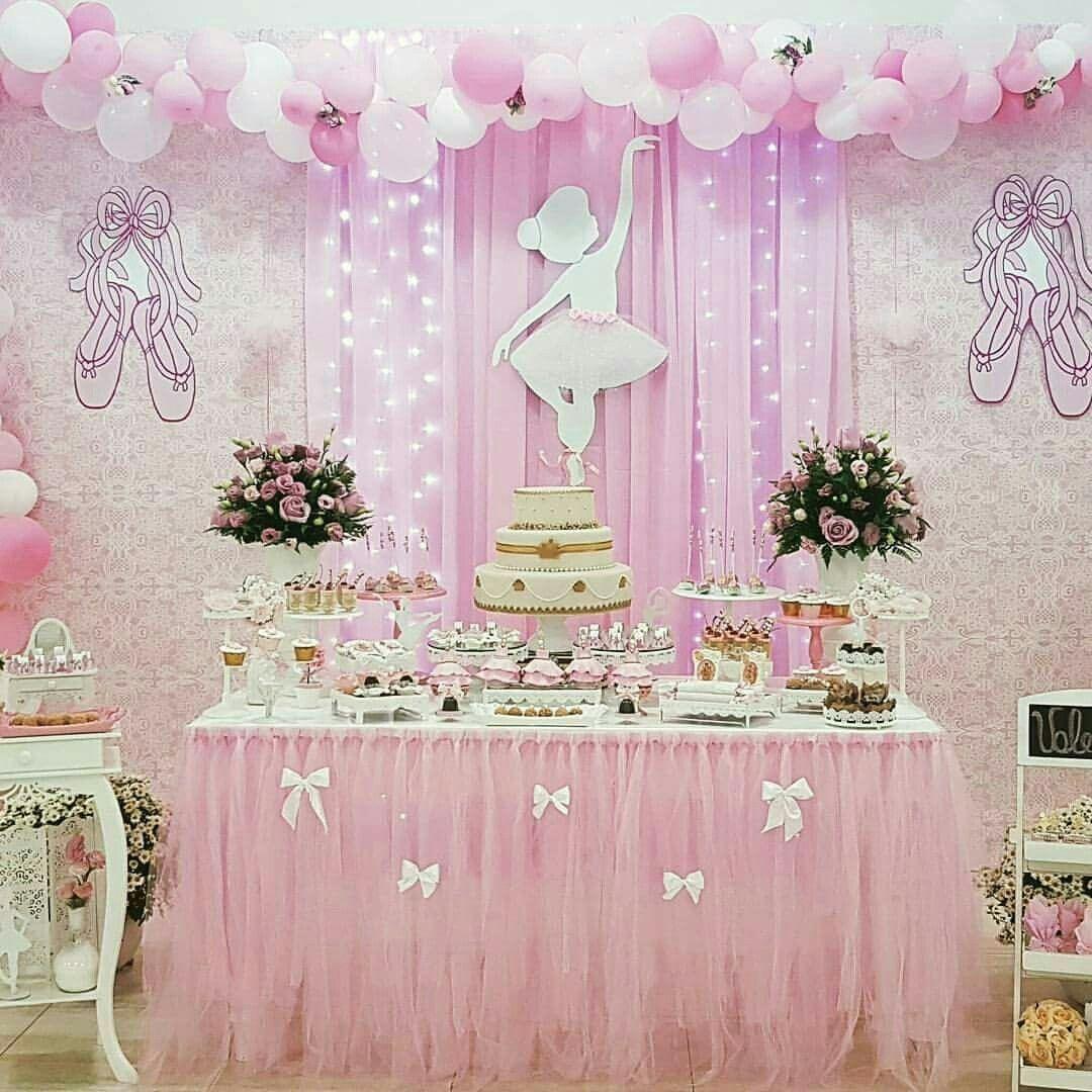 Pin by Dimary on Birthday diy Pinterest Ballerina Birthdays and