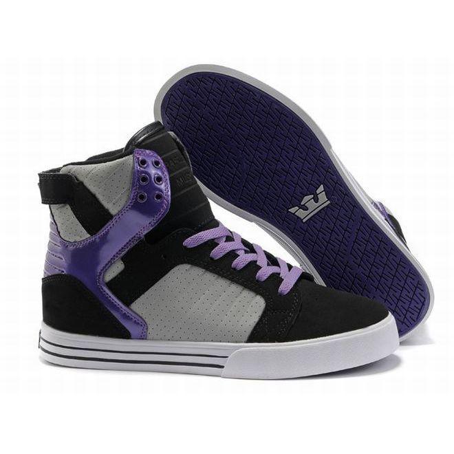 3e3061823762 Buy Supra Skytop Grey Black Purple Men s Shoes Cheap To Buy from Reliable  Supra Skytop Grey Black Purple Men s Shoes Cheap To Buy suppliers.