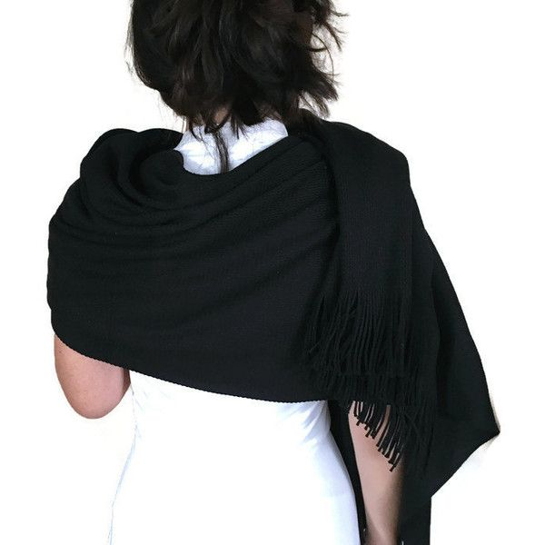 Elegant Black Shawls