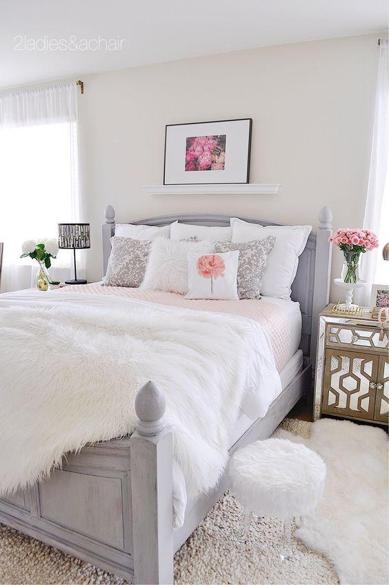 Elegantes Dormitorios Con Accesorios Decorativos Adecuados Hola - Dormitorios-chicas