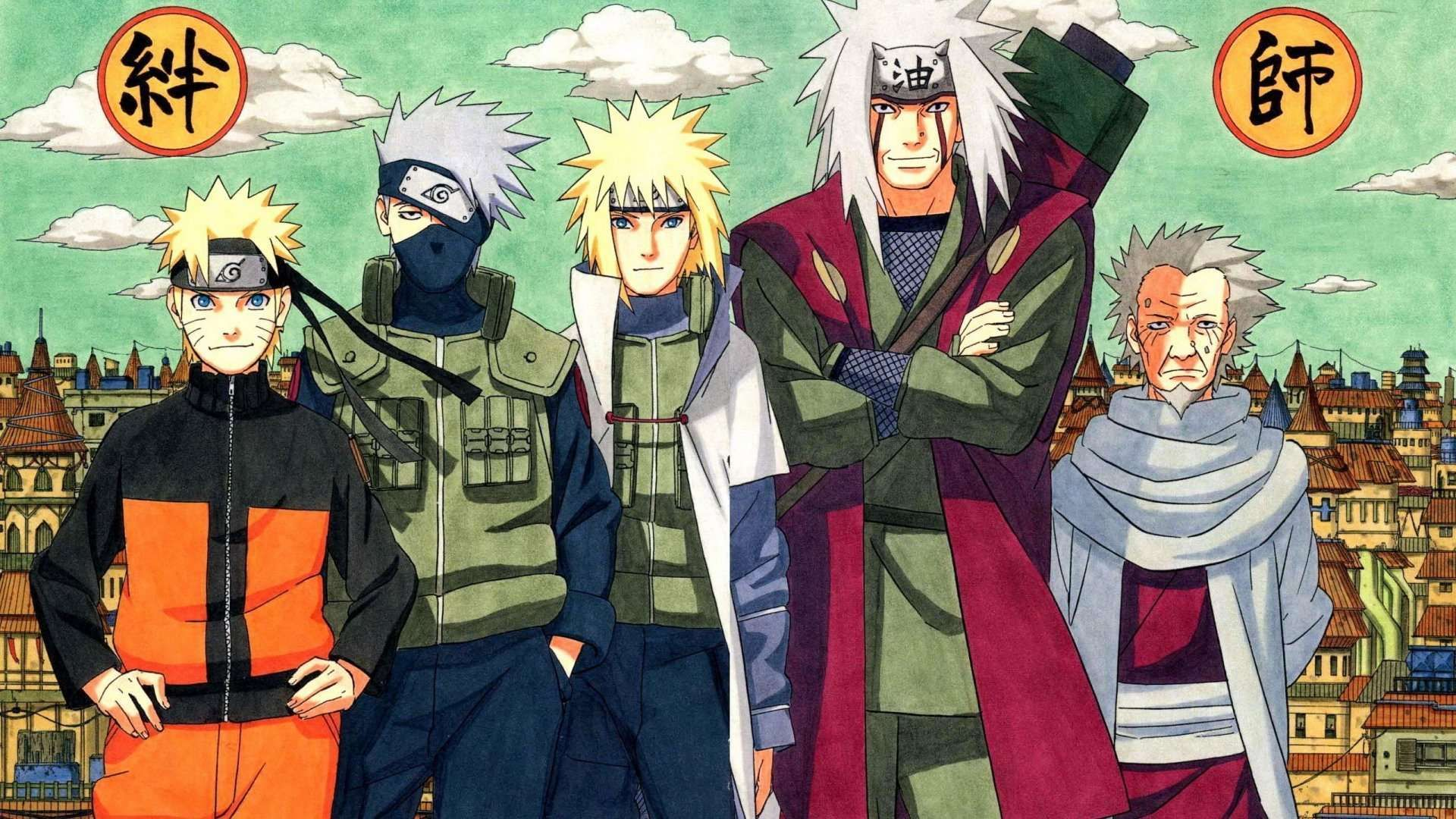 Naruto Shippuden Hokage Wallpapers Hd 1080p Naruto Jiraiya