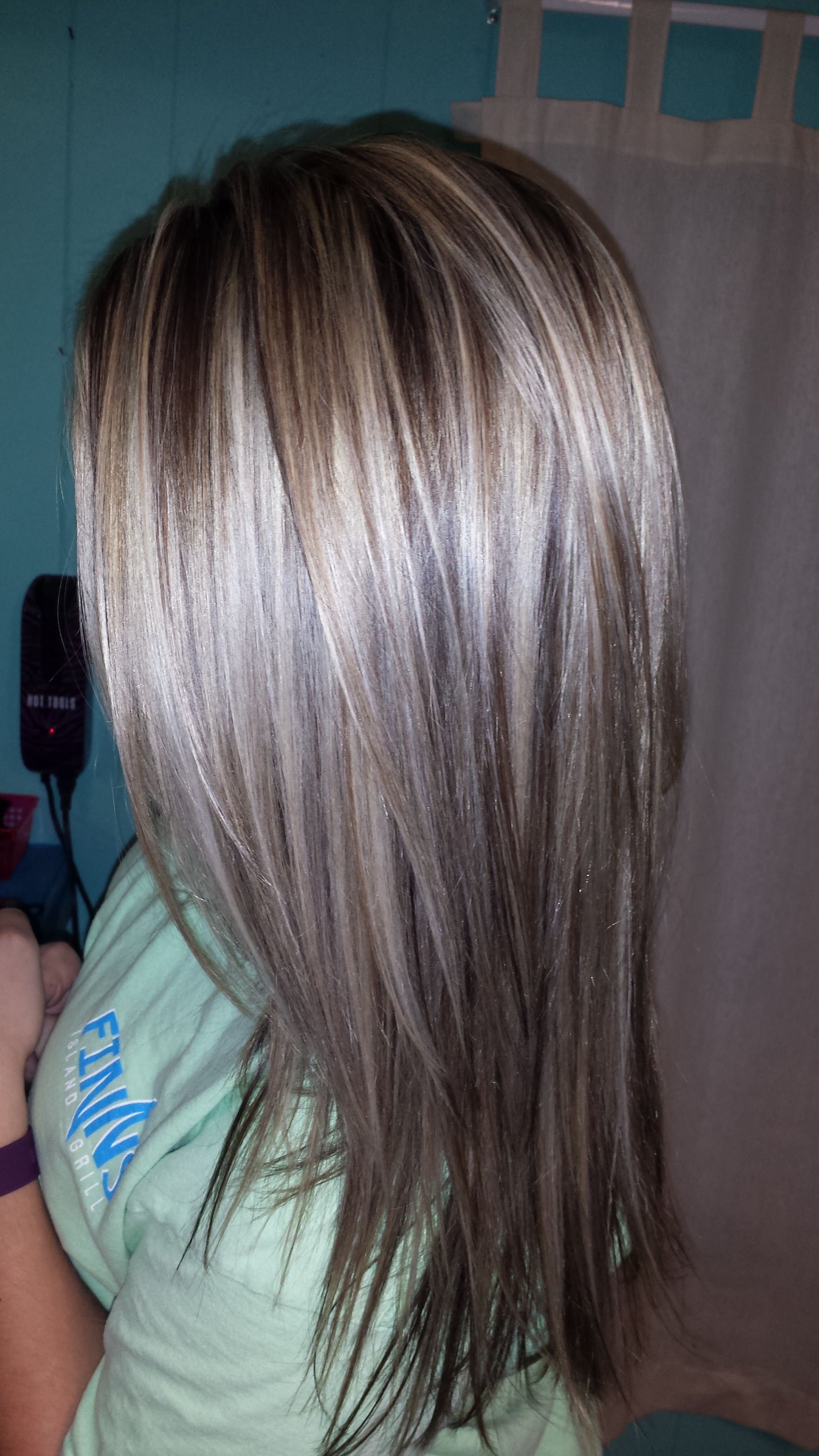Dark Brown Hair With Silver Highlights Google Search Mykinglist Com Brown Hair With Silver Highlights Brown Hair With Blonde Highlights Light Brown Hair