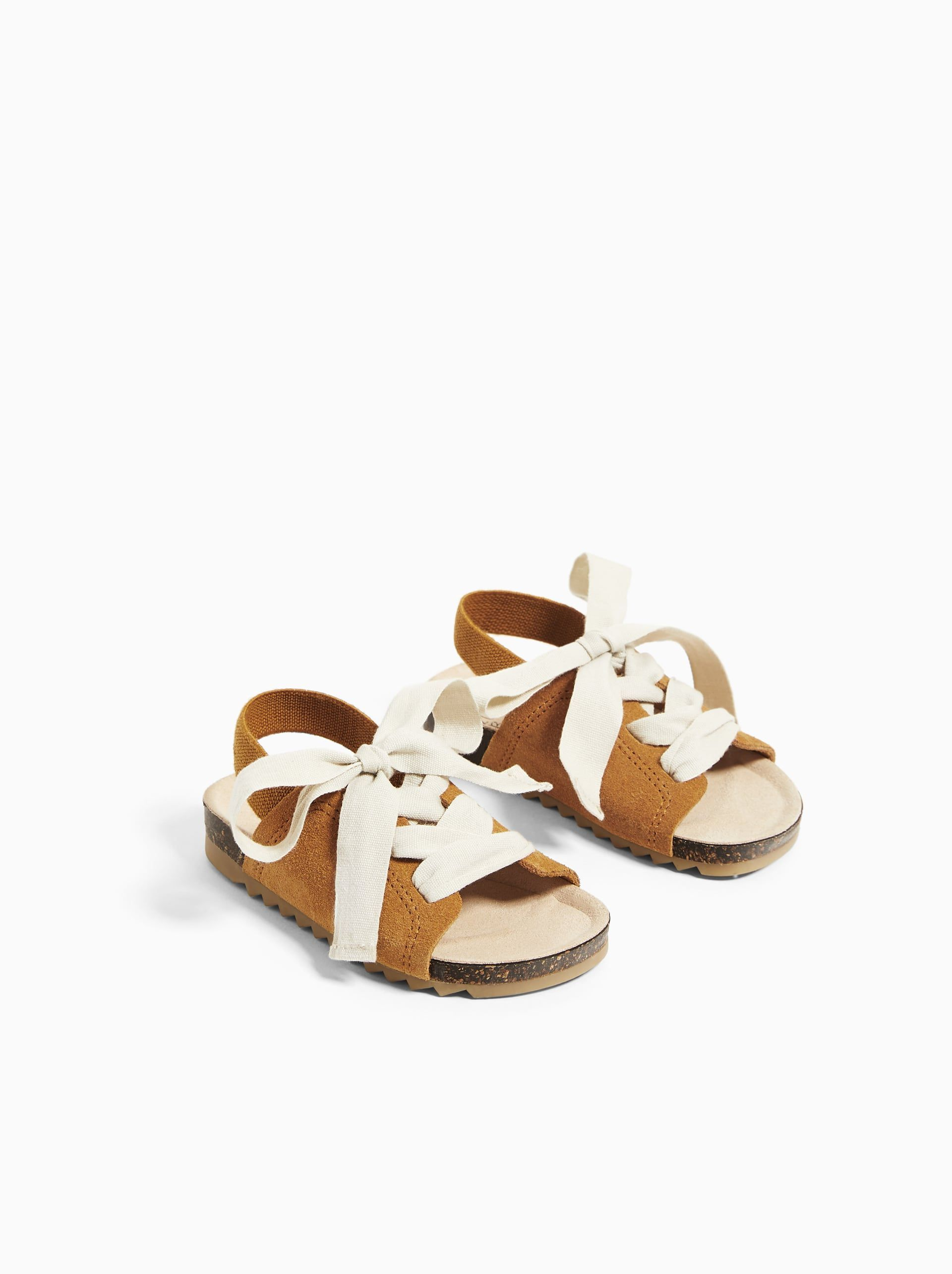 Kid shoes, Leather sandals, Leather