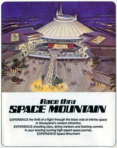 disneyland 1977 space mountain