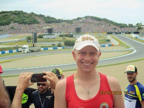 """015. #RetoJerez. Elisabeth Huerga.  Enviada a Twitter (@jerezmoto2016) """"El año pasado fue la primera vez que pisé el circuito de Jerez :D""""  #JerezesMotor"""