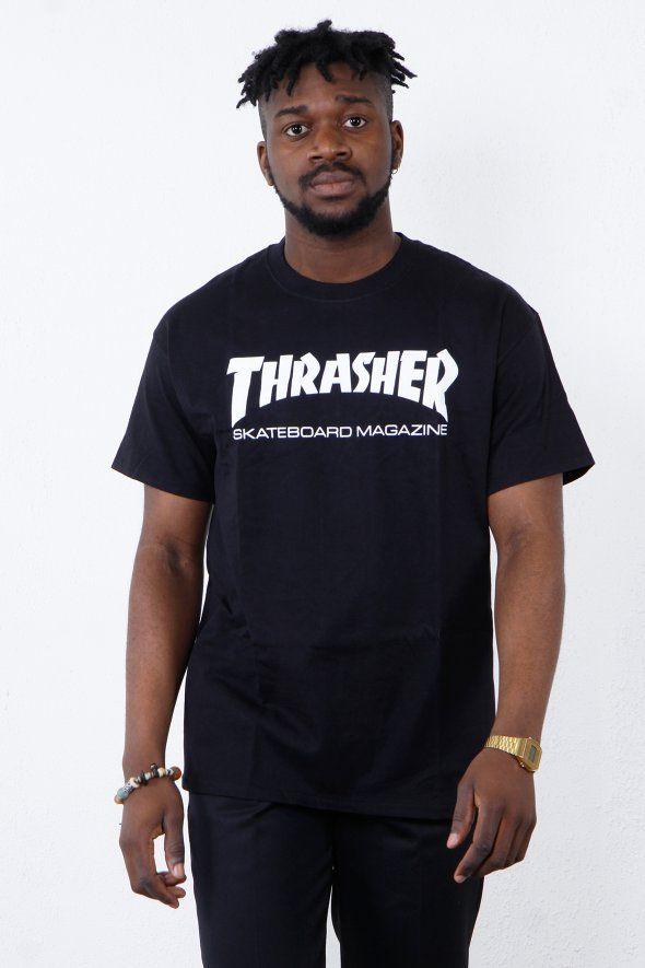 b69ba7e45773 Thrasher - Skate Mag tee, thrusher, mug, tee, black, white, shirt ...