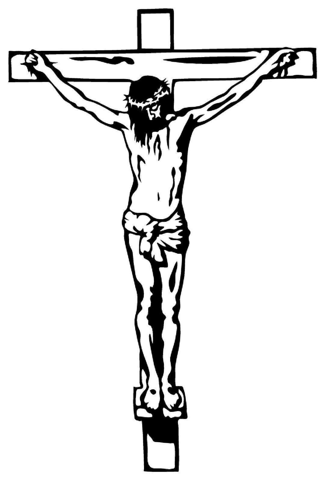 bilder ausmalen malvorlage jesus am kreuz